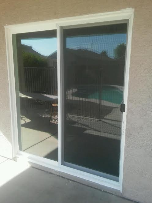New Patio Door installed