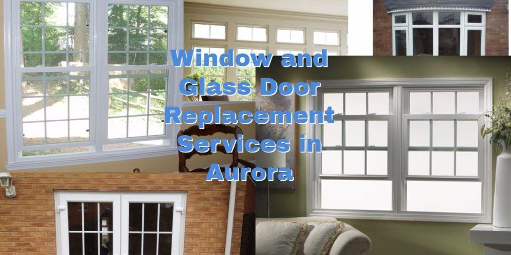 broken glass repair company banner